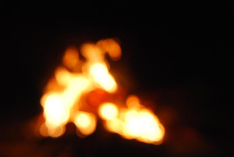 Fire Light  bokeh  STOCK 17 by Theshelfs