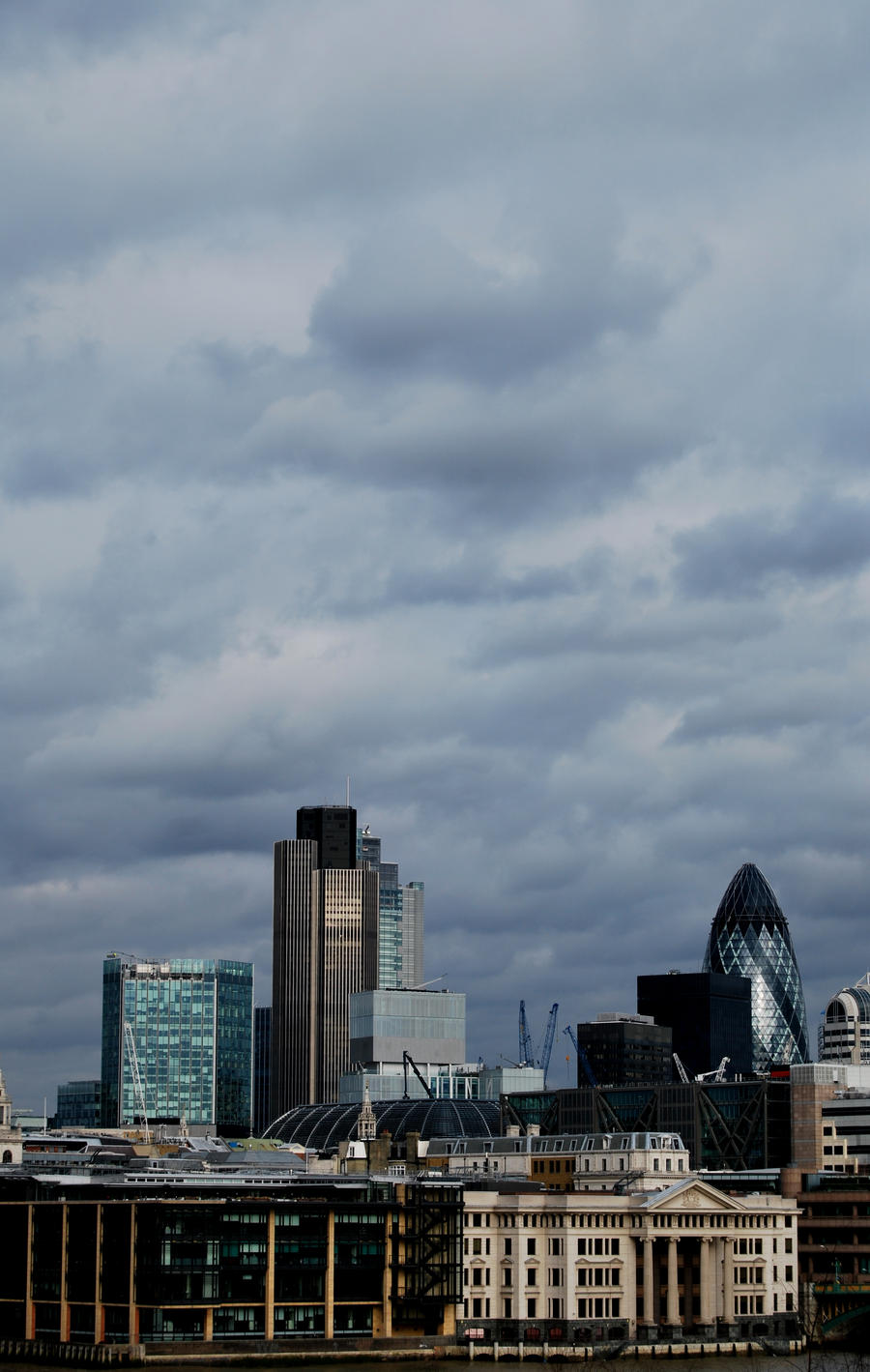 LONDON SKYLINE STOCK 3 by Theshelfs