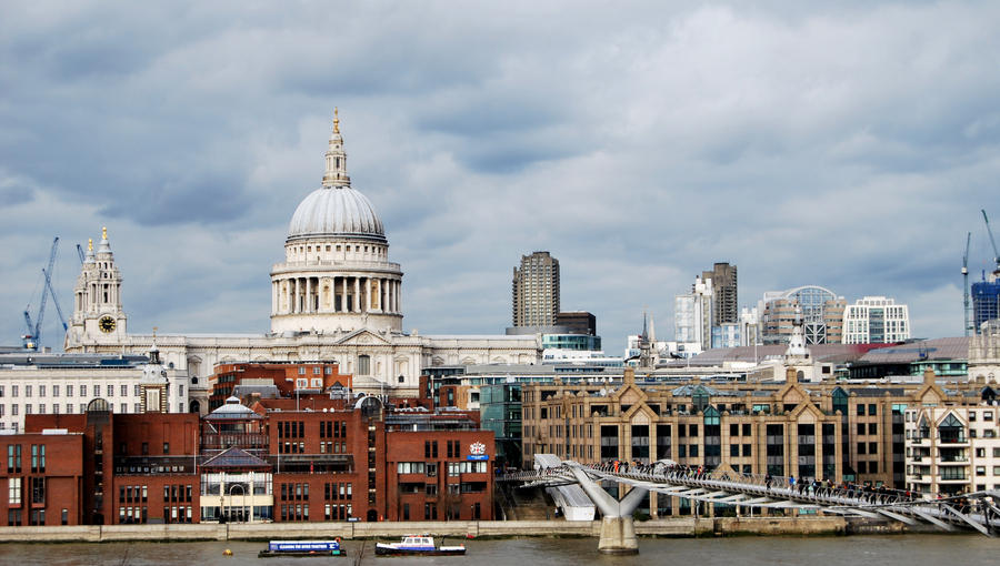 LONDON SKYLINE STOCK 4 by Theshelfs