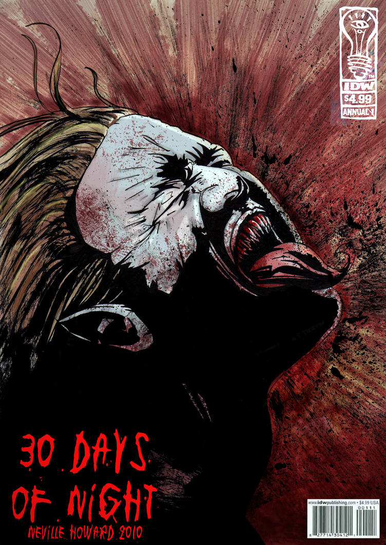 30 Days of Night colour by GeoPhreak on deviantART