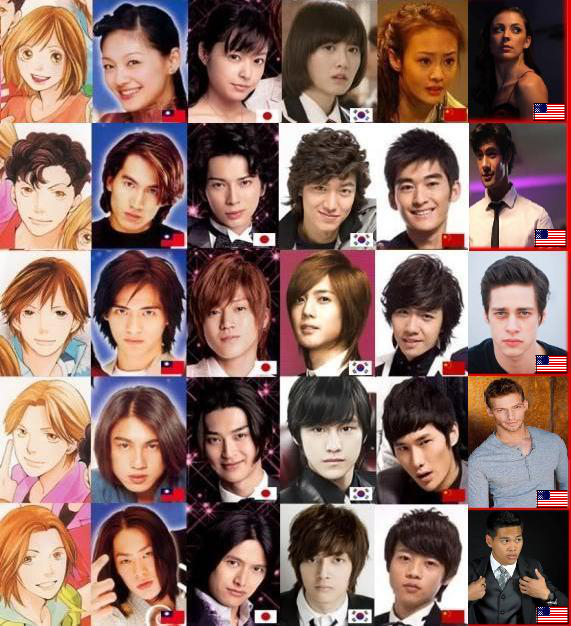 Hana Yori Dango All Versions By Tsukasatsukushi On Deviantart