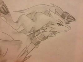 Reshiram sketch by ilovereshiram01
