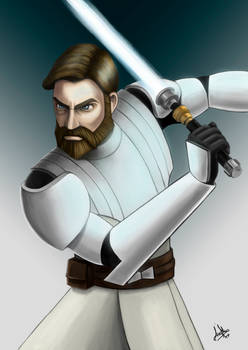 Obi-Wan Kenobi Color Version