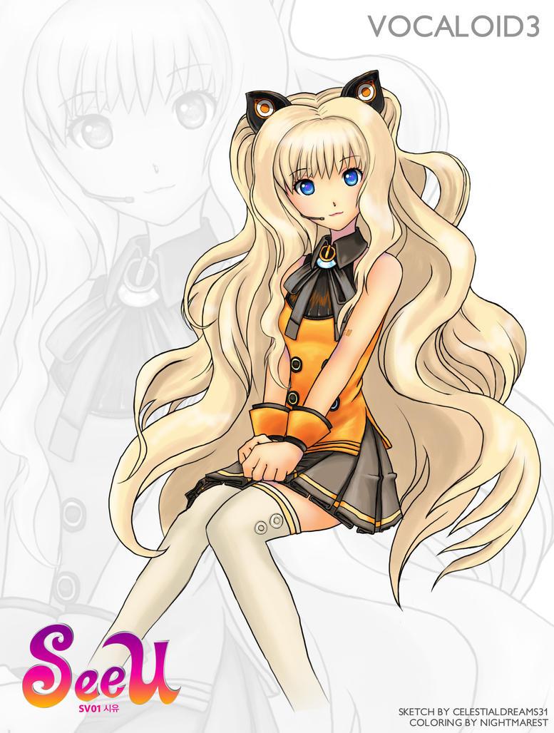 Vocaloid SeeU by celestialdreams31