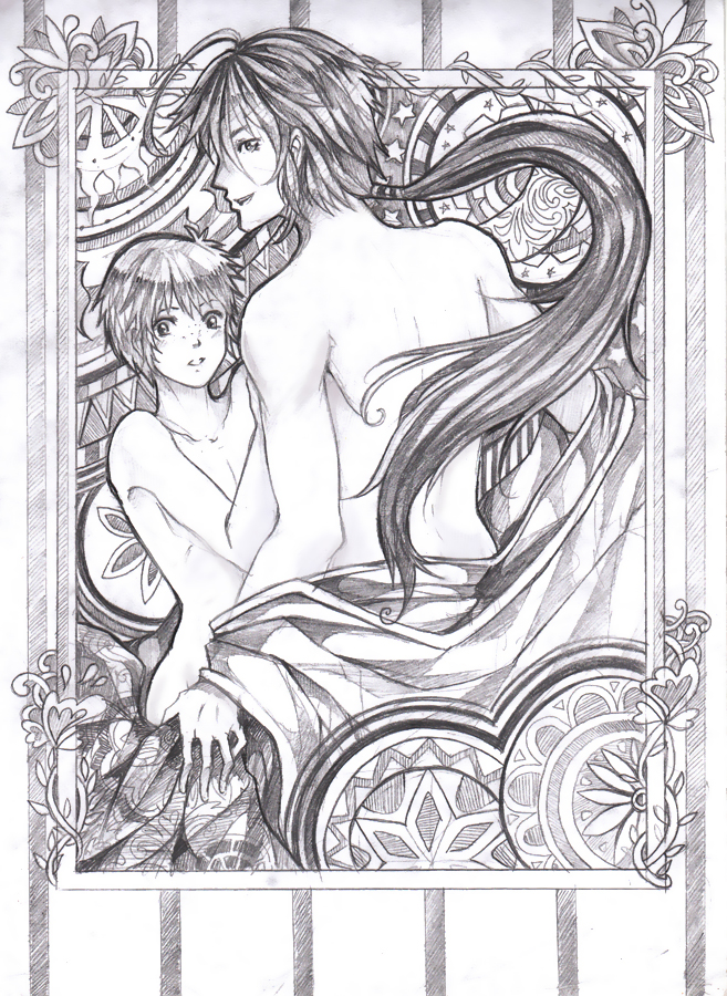 Initial Lover by Altonaix