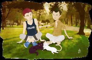 Mi familia by Ale-Clover