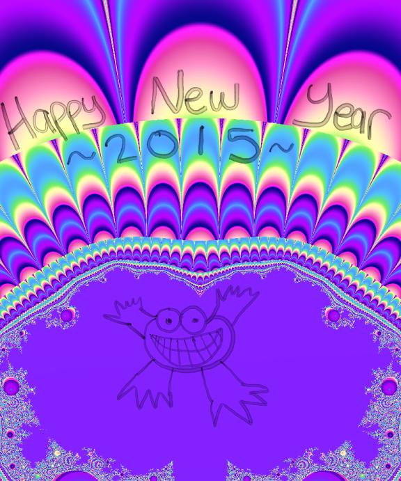 Happy New Year 2015 by mizzzjulie
