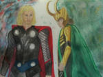Loki and Thor WIP