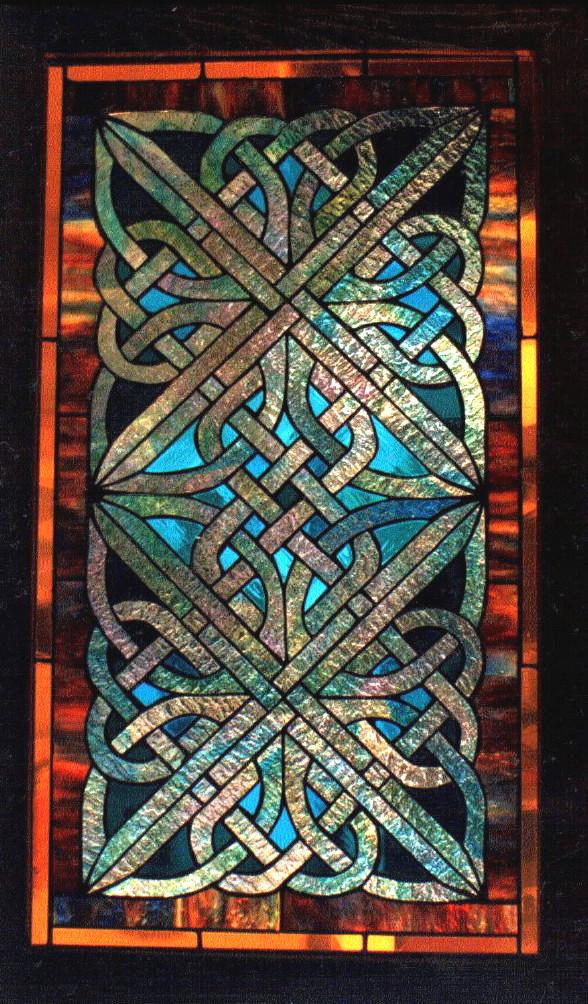 celtic knotwork  panel by cymrudragon
