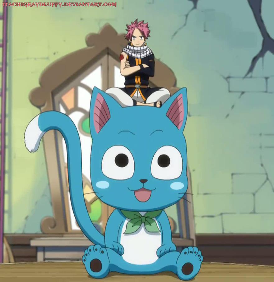Chibi Natsu and Happy - assembly by ItachiGrayDLuffy on ...  Chibi Natsu and...