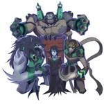 BEN10 Halloween Monsters