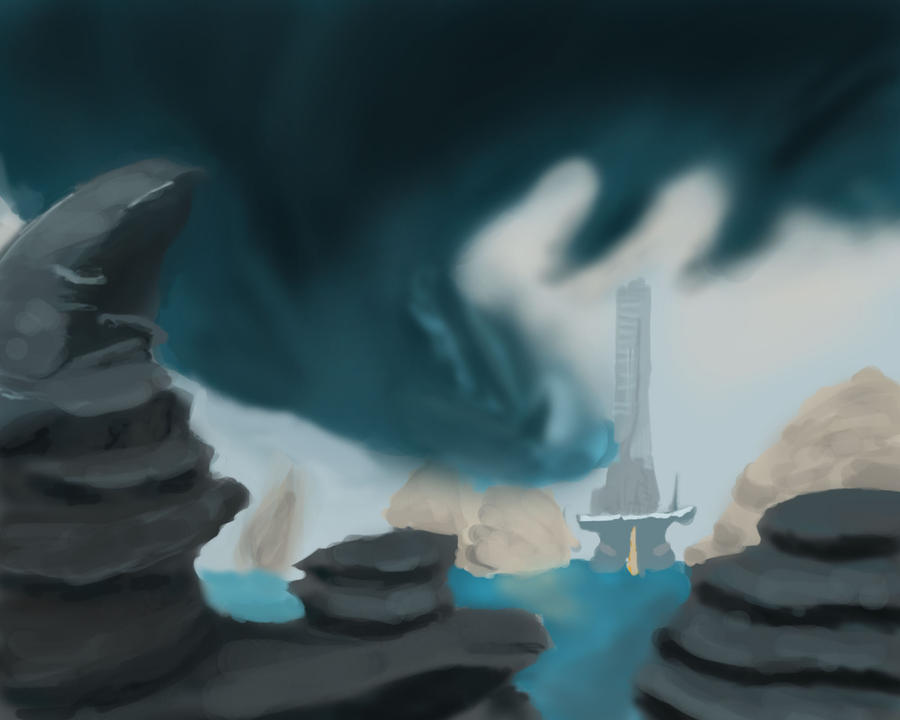 speed paint 024 Squall by ParjanyaVictor