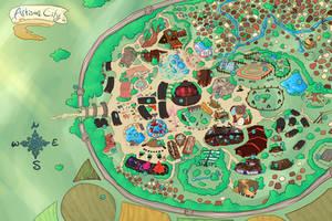 Artisan City Map by Hannah--Bug