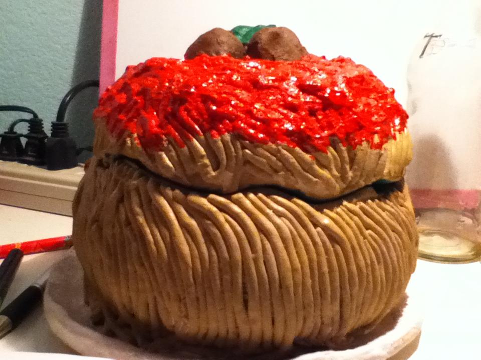 Spaghetti jar by Callincone