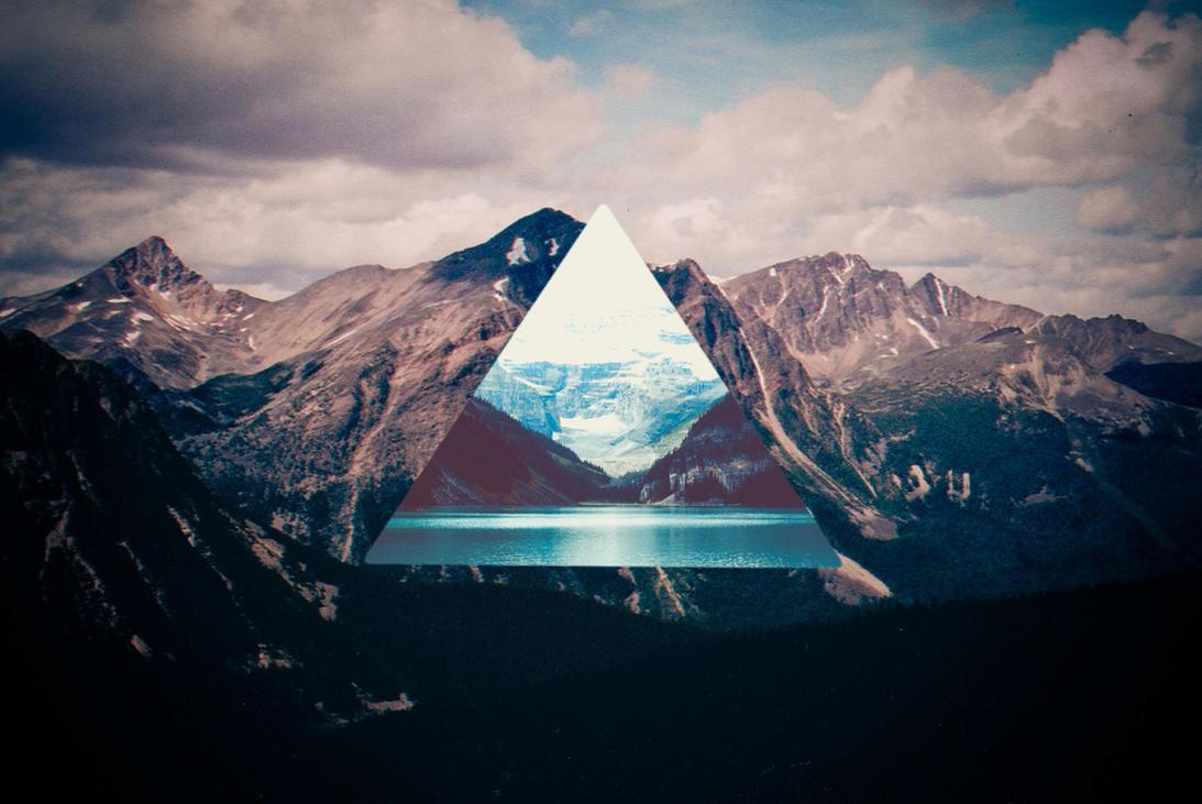 Beautiful Wallpaper Mountain Triangle - mountain_triangle_by_prolite-d56kl02  2018_40853.jpg