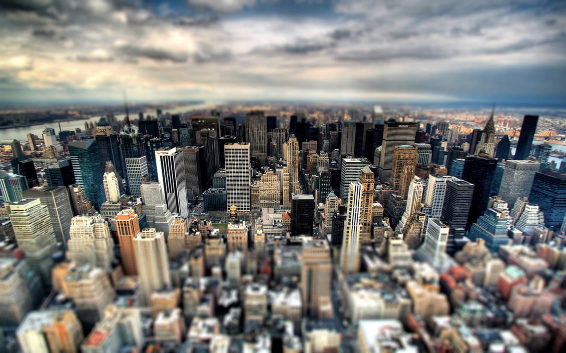 City Blur Wallpaper by Prolite