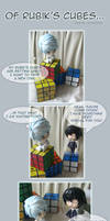 Of Rubik's cubes...