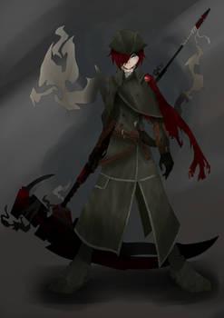 Yharnam Huntress Ruby