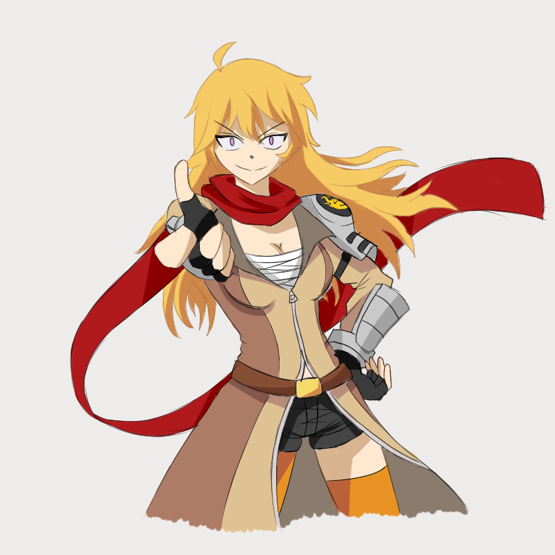 Yang Xiao Long Wallpaper: Yang Xiao Long Redesign By Sorairo-Wolf On DeviantArt