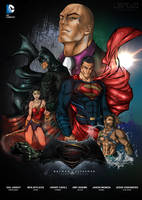 Batman-vs-Superman-dawn-of-justice by Diego-ArtistaDigital