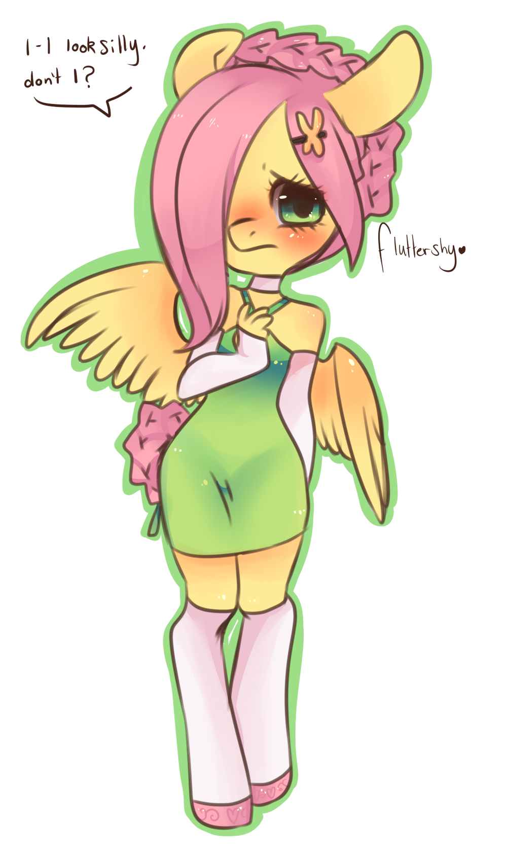 Fluttershy Chibi Edit by Spookie-Sweets on DeviantArt