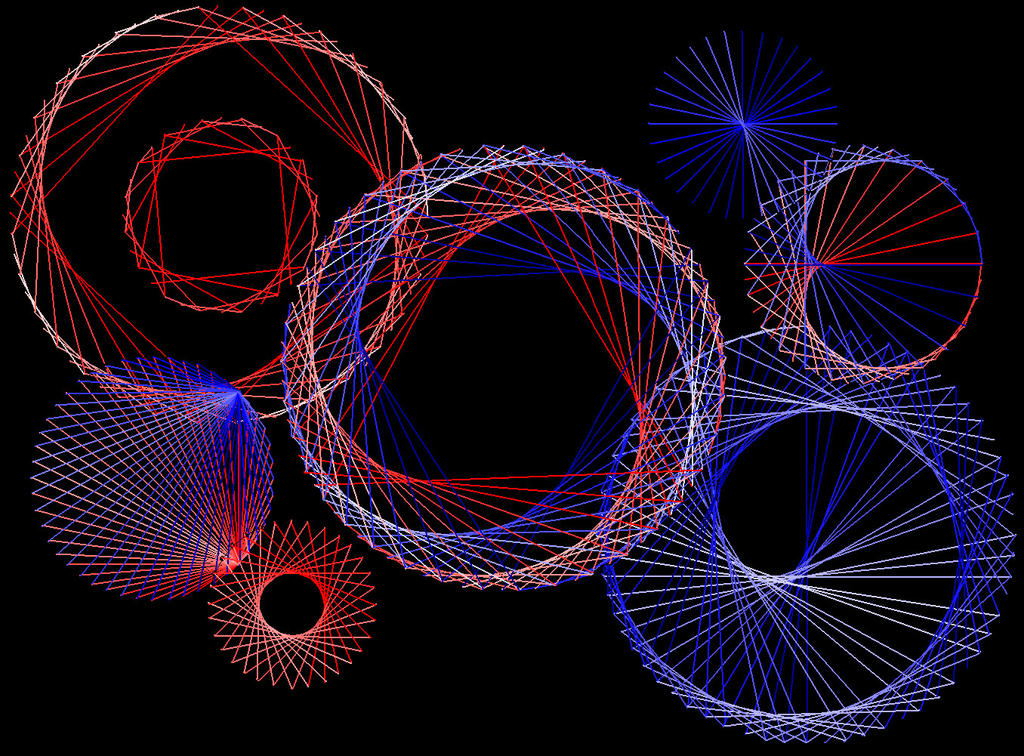 Digital string art by terhesati on deviantart - String art modele ...