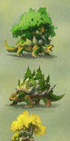 Pokemon variations: Torterra
