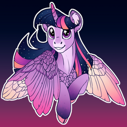 Twilight Button Design by turnipBerry