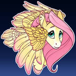 Fluttershy Button Design