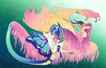 Ascension AU! Fluttershy by turnipBerry
