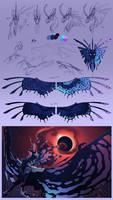 Nightmare Moon Sketchdump