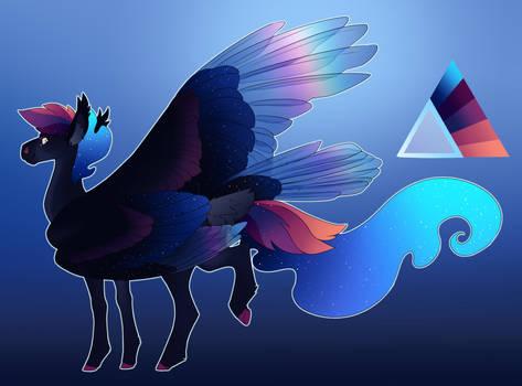 Prism Trail: Luna X Rainbow Dash