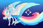 Prismatic Halo: Celestia x Rainbow Dash