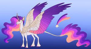 Starblaze: Celestia x Rainbow Dash