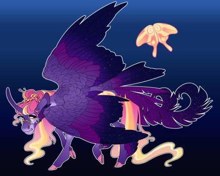 Dawn Moth: Twilight x Fluttershy