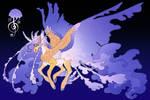 Siren Song: Luna x Fluttershy