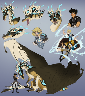 Sketch page for KhaoticVex