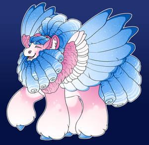 Candy Cloud: Pinkie x Celestia