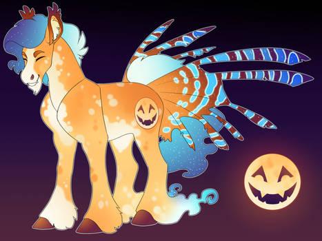 Jack'O lantern Moon: AJ x luna  Shipping Adopt