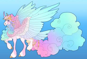 Pinkie X Mirror Celestia