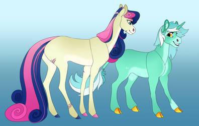 Lyra and Bon Bon Headcanon