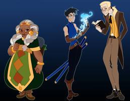 Character Concepts: Edith, Vas, and Johnathan