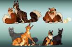 Firestar's Family Tree: Squirrelflight