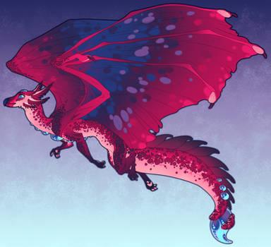 Axolotl Dragon Commission