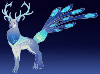 Peacock Stag Commission