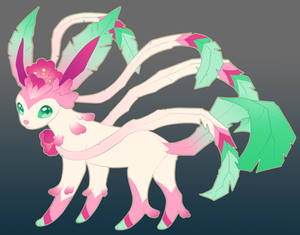 Sylveon Leafeon Fusion Commissions