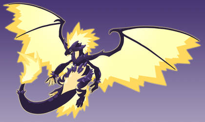 Charizard Toxtricity Fusion Commission