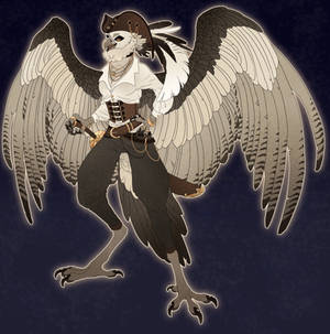 Harpy Pirate Commission