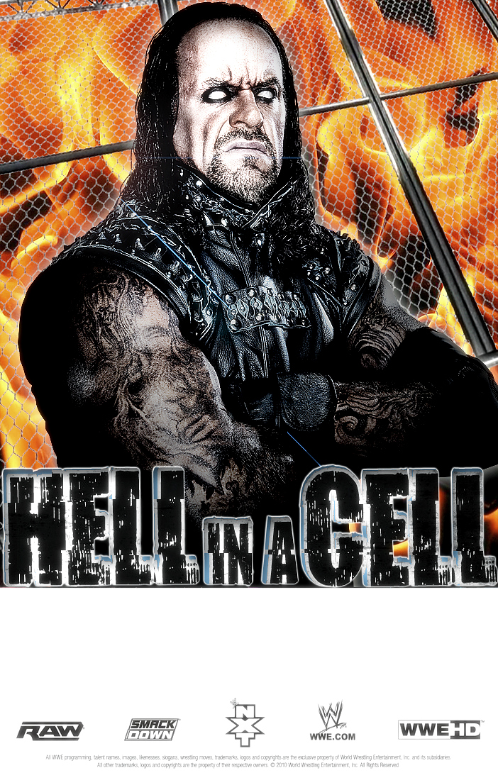 wwe Hell In A Cell 2010 by Gogeta126