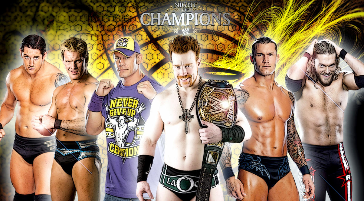 wwe Night Of Champions Updated by Gogeta126